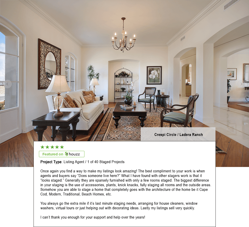 Won Best of Houzz - Home Staging By CarolHome Staging By Carol
